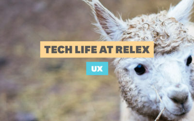 Tech Life at RELEX: UX